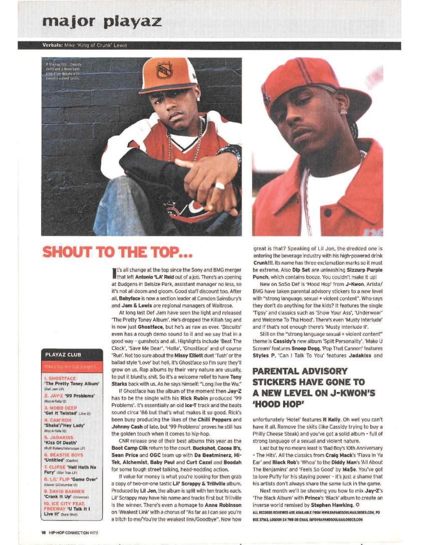 Hip-Hop History: Looking Back on Hip-Hop Connection June